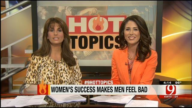 Hot Topics: Women's Success Makes Men Feel Bad