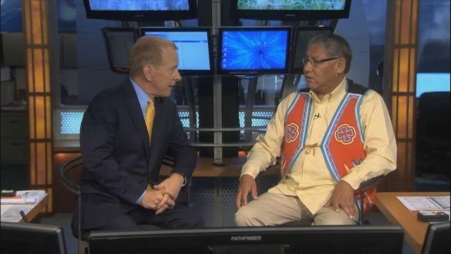 Gary Speaks With Cheyenne Tribal Chief Gordon Yellowman, (Complete Interview)