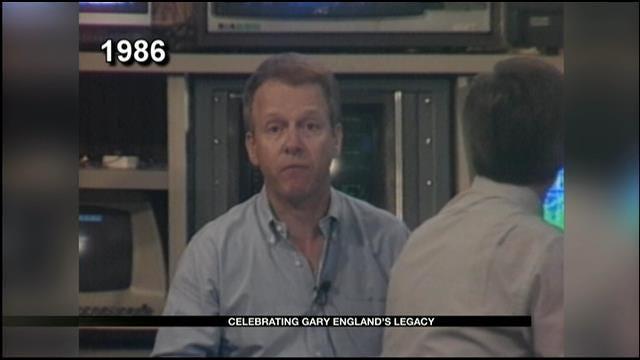 Gary England Covers Edmond Tornado In 1986
