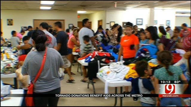 Asics, FOP Give Athletic Apparel To OKC Inner-City Youth