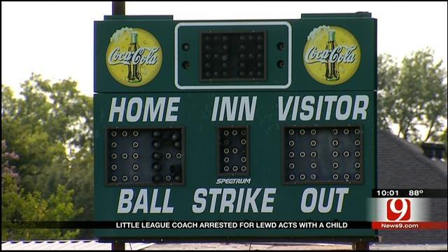 OKC Little League Coach Accused Of Child Sex Crime