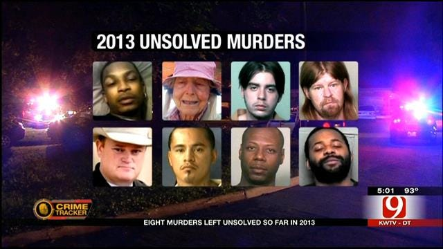 Eight Murders In OKC Still Unsolved