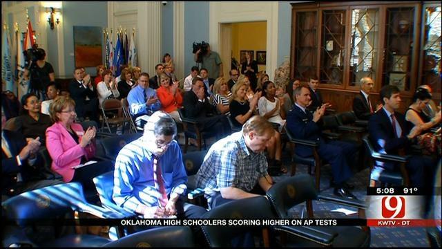 Oklahoma Students Improve AP Test Scores Through National Program