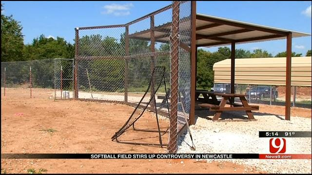 New Softball Field Stirs Controversy In Newcastle