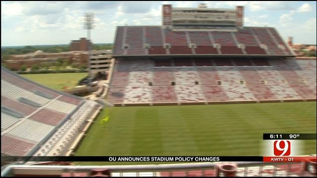 OU Stadium Policy Changes And Alternate Game Day Routes For 2013