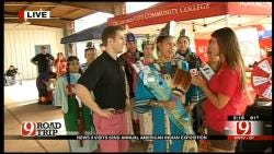 Miss American Indian Expo Speaks To News 9