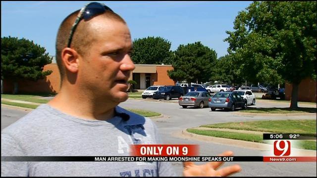 Anadarko Man Speaks Out After Moonshine Operation Bust