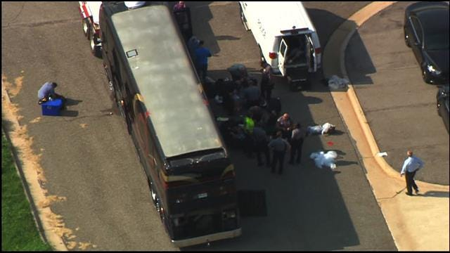 WEB EXTRA: Rapper's Tour Bus Pulled Over, Searched In OKC