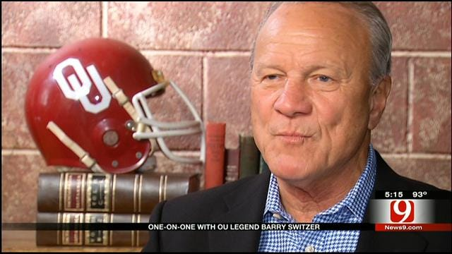 Legendary Sooner Football Coach Barry Switzer Talks With News 9