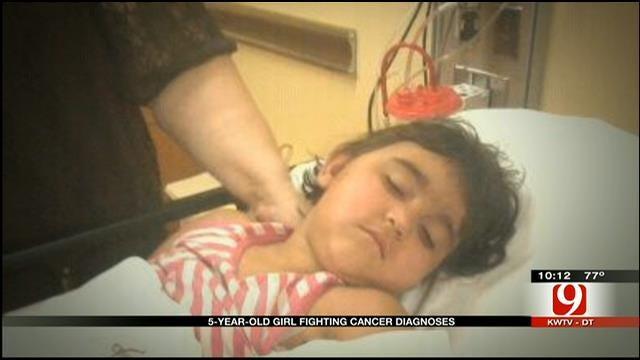 OKC Girl Battling Rare Brain Cancer Wants To Attend School