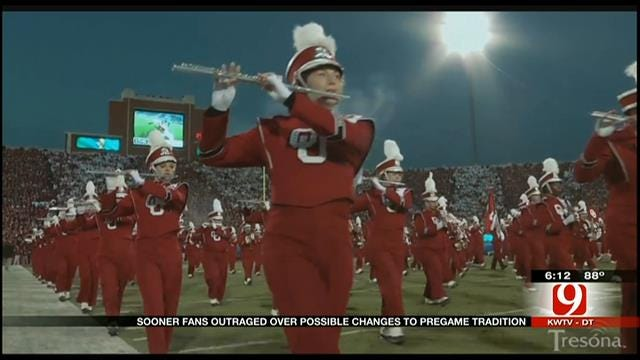 OU Marching Band Director Ditches Change To Pregame Fanfare