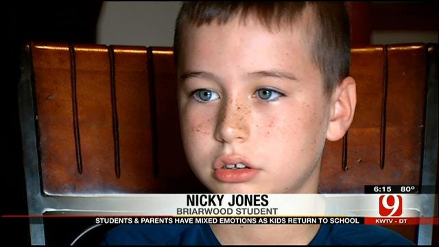 Briarwood Student Happy To Return To Class, Worried Too