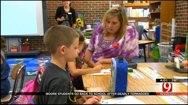 New School, Same Faces For Many Moore Students