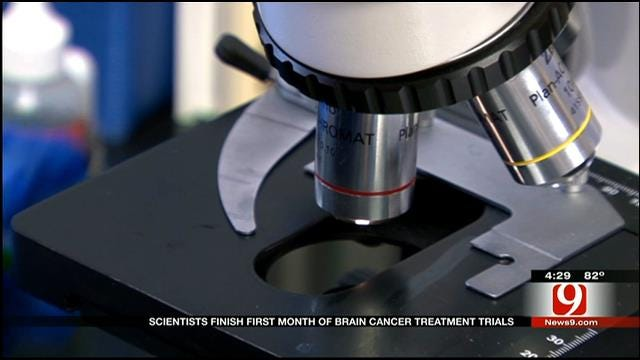 Medical Minute: Scientist Finish First Month Of Brain Cancer Trials