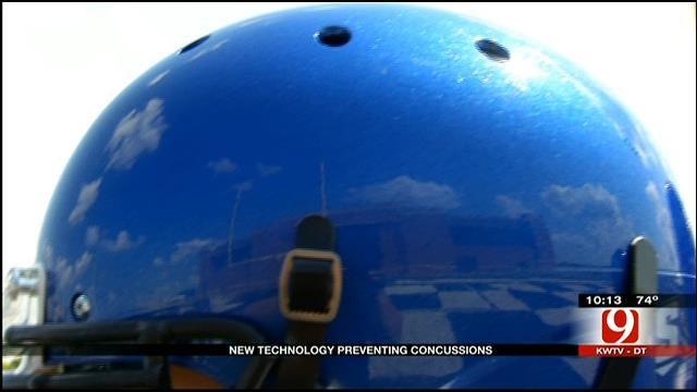 Newcastle Football Players Get New High-Tech Helmets