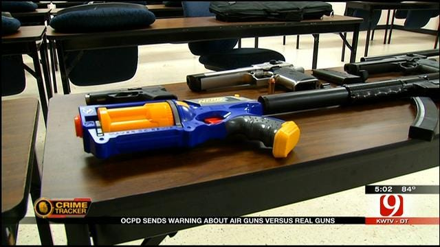 OKC Police See Increase In Fake Guns Made To Look Real