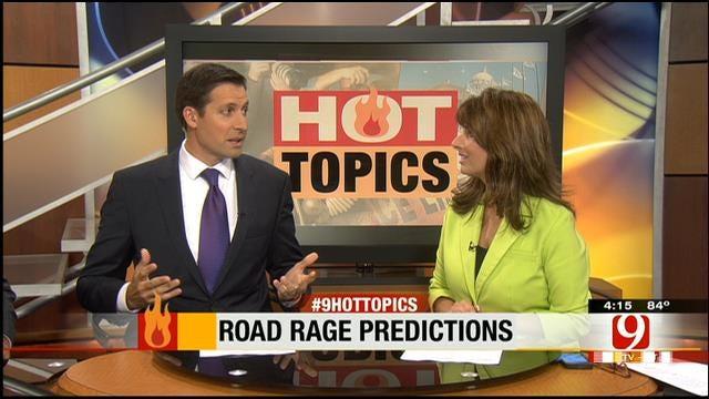 Hot Topics: Road Rage Predictions