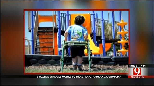 Shawnee Schools Work To Make Playground A.D.A Compliant
