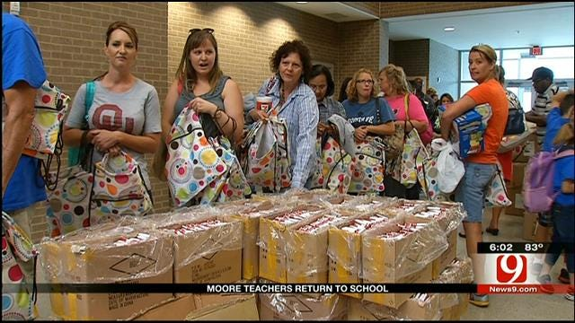Moore Teachers Return For New School Year