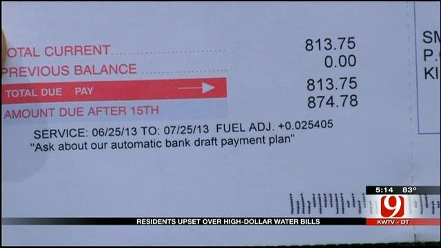 Some Kingfisher Residents Receive Higher Than Usual Utility Bills