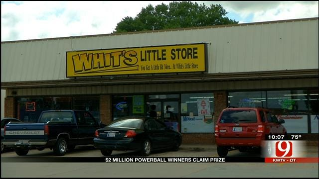 OKC Store Owner Reacts To Selling $2M Powerball Ticket