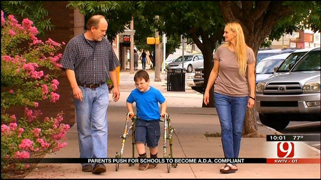 Shawnee Parents Push For ADA Compliance At School