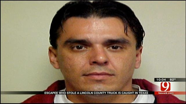 Lincoln County Escapee Captured In Texas