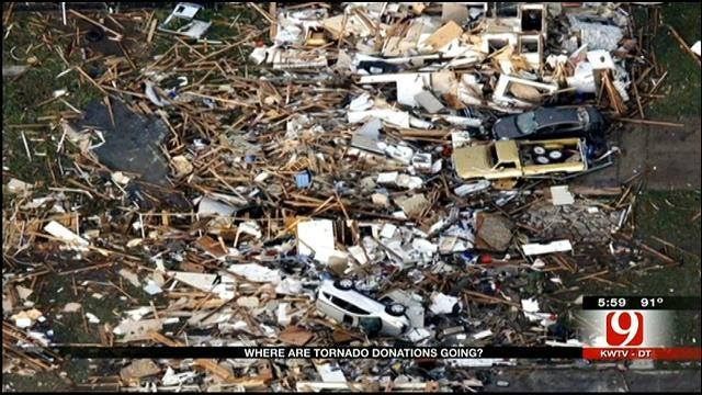Oklahoma Tornado Donation Figures Released