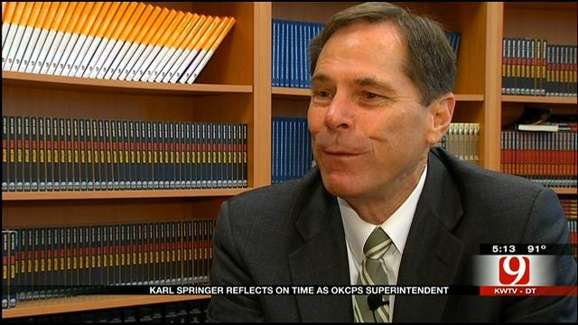 Outgoing Superintendent Talks With News 9 About Regrets, Future