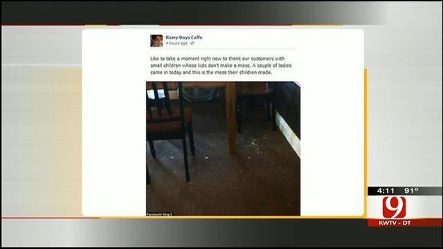 Hot Topic: Cafe Owner Uses Facebook To Shame Parents