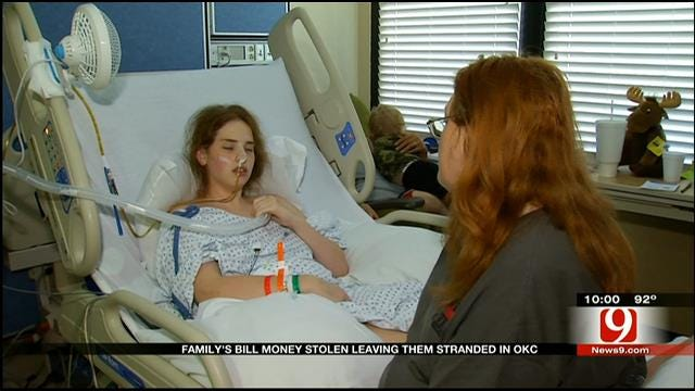 Police: Robbery Suspect Steals From Family Of OKC Girl Battling Disease