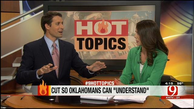 Hot Topics: Director Cuts Movie So Oklahomans Can 'Understand'