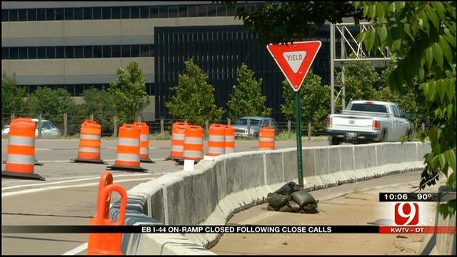 ODOT: Close Calls Prompt Busy I-44 Ramp Closure