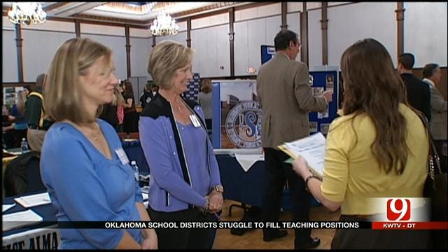 Many OK School Districts Still Struggling To Fill Vacant Teaching Positions