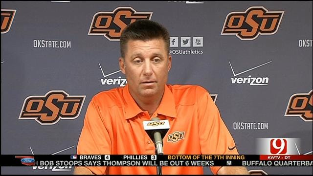 Gundy Thinks Big 12 Is Wide Open