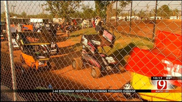 OKC Speedway Reopens After Taking Direct Hit From Tornado