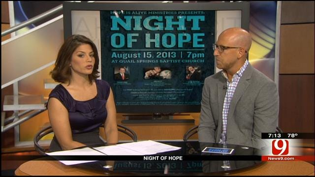 'Night Of Hope' Event Helps Oklahomans Struggling With Addiction