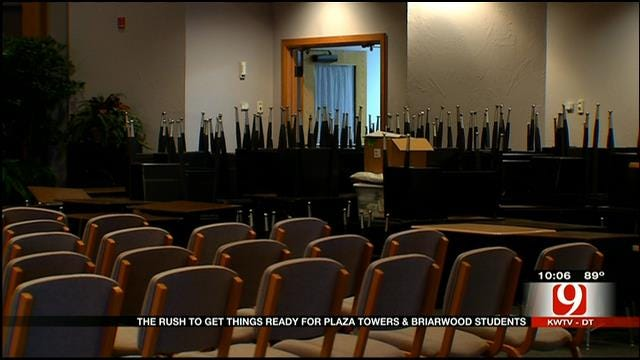 Moore School Officials Prepare New Homes For Briarwood, Plaza Towers