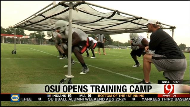 Oklahoma State Opens Fall Practice