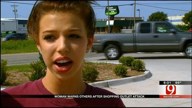 Mother Attacked In Broad Daylight At OKC Outlet Mall