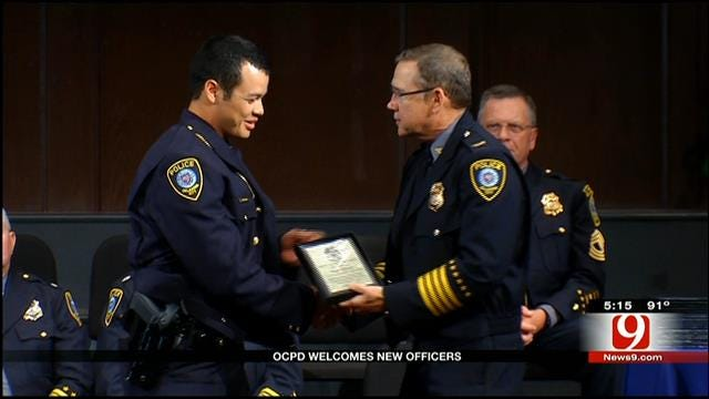 Cadets Graduate From OKCPD Police Academy