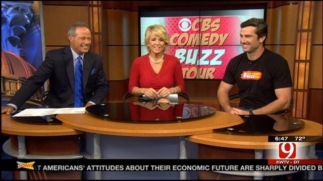 CBS Buzz Tour Stops In OKC