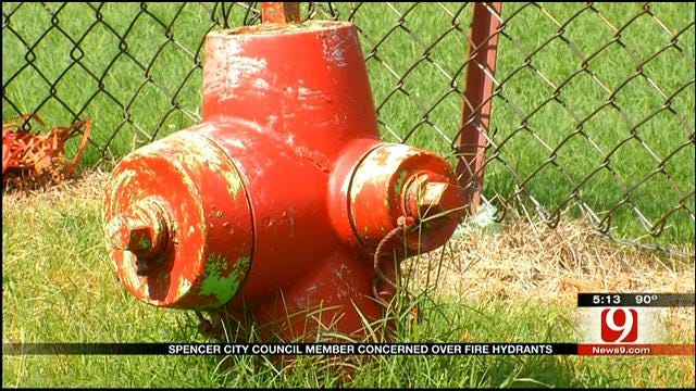 Council Member Fears For Spencer Safety Due To Faulty Fire Hydrants