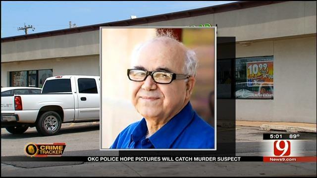 OKC Police Release Surveillance Photos Of Suspect In Clerk's Death