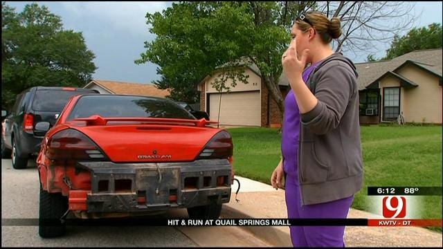 Woman Furious Over Hit-And-Run At Quail Springs Mall In OKC