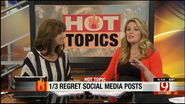 Hot Topics: Third Regret Social Media Posts