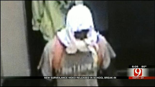 Police Release Surveillance Video Of Break-In At OKC Elementary School