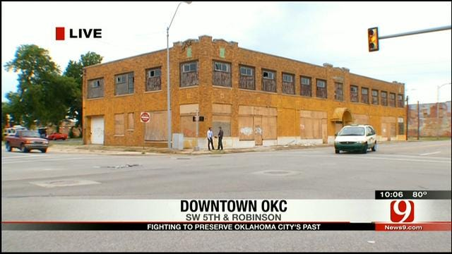 OKC Historian Fights To Save Old Film Exchange Building