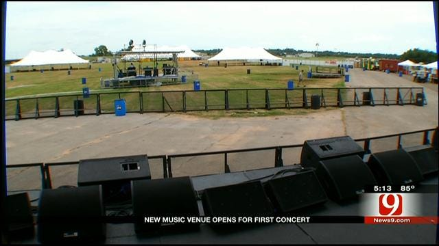 Downtown Airpark Music Pavilion Opens In OKC