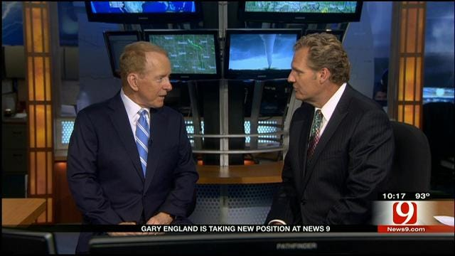 Gary England Talks To Kelly Ogle About New Role At News 9